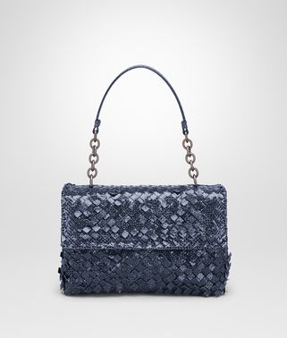 SMALL OLIMPIA BAG IN PRUSSE INTRECCIO AYERS