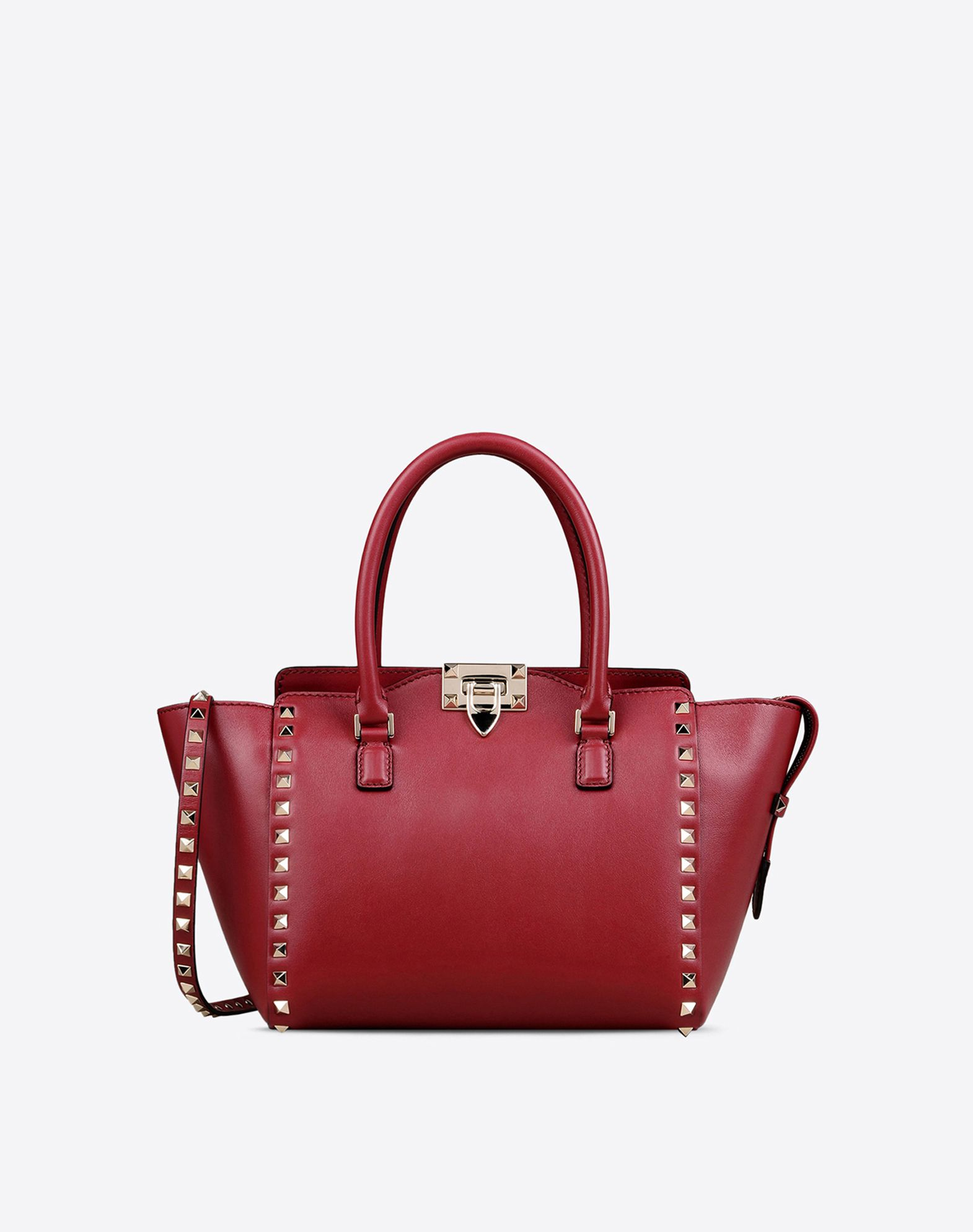Valentino Garavani Rockstud Small Double Handle tote bag - Red Valentino vZKgdcrcG