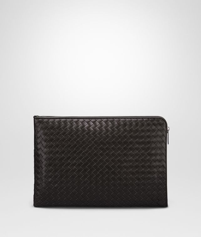 BOTTEGA VENETA DOCUMENT CASE IN ESPRESSO INTRECCIATO VN Document case [*** pickupInStoreShippingNotGuaranteed_info ***] fp