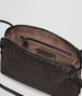 BOTTEGA VENETA MESSENGER BAG IN ESPRESSO INTRECCIATO NAPPA Crossbody bag D dp