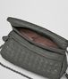 BOTTEGA VENETA MESSENGER BAG IN NEW LIGHT GREY INTRECCIATO NAPPA Crossbody bag Woman dp