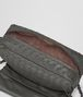 BOTTEGA VENETA MESSENGER BAG IN NEW LIGHT GREY INTRECCIATO NAPPA Crossbody bag D lp
