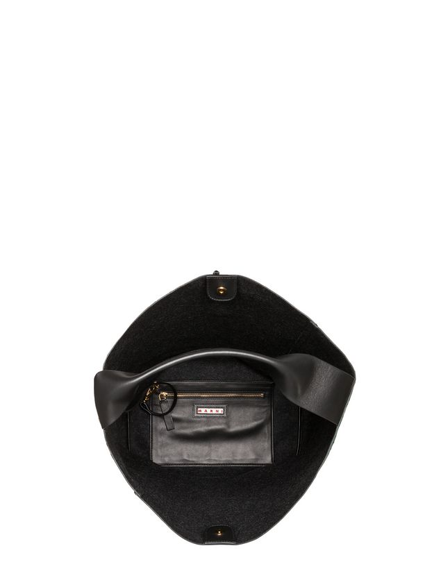 Marni POD bag in tri-colored lambskin Woman - 4