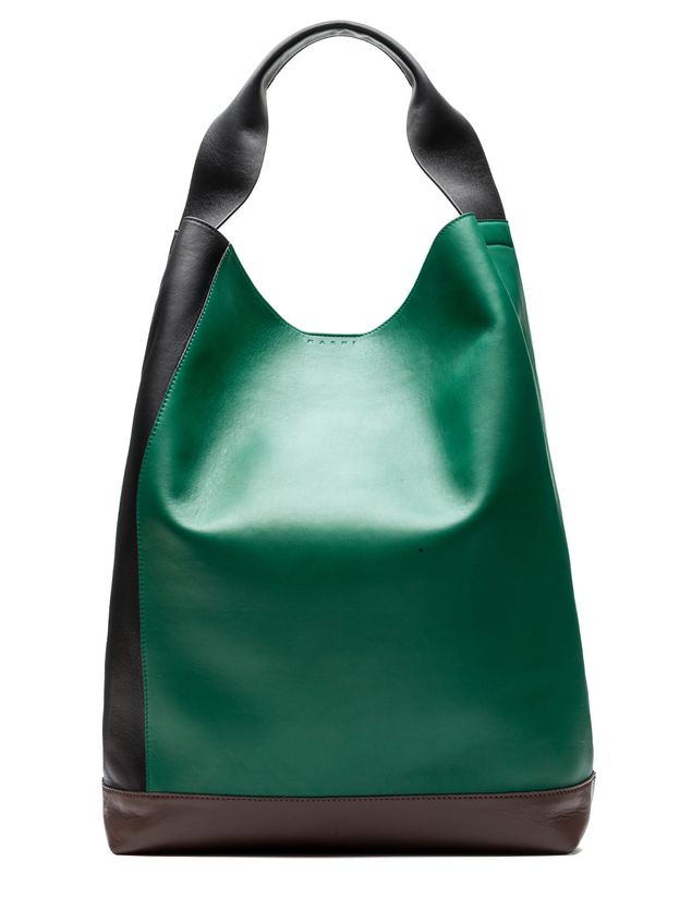 Marni POD bag in tri-colored lambskin Woman - 1