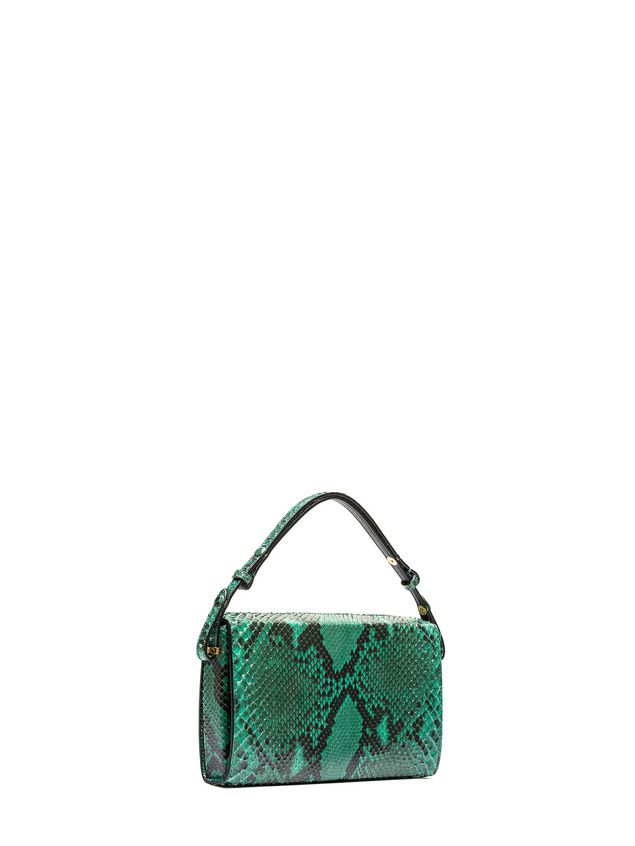 Marni Runway BOOK bag in python Woman - 2