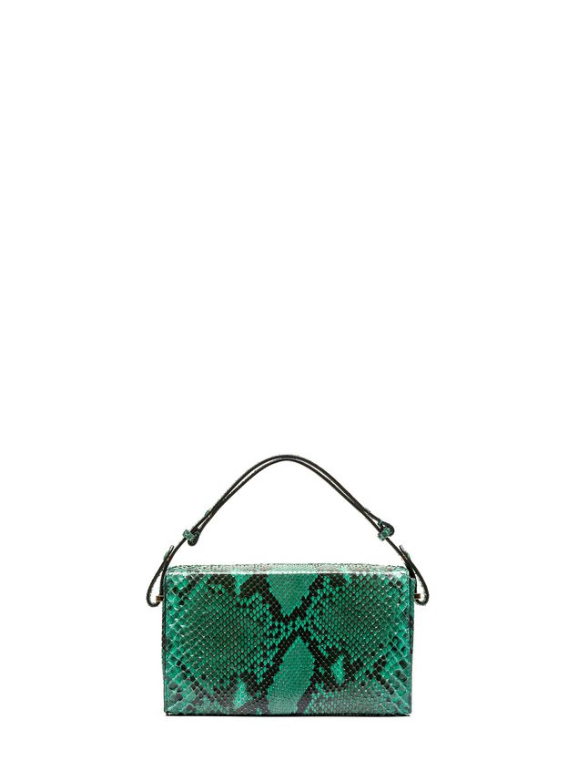 Marni Runway BOOK bag in python Woman - 1