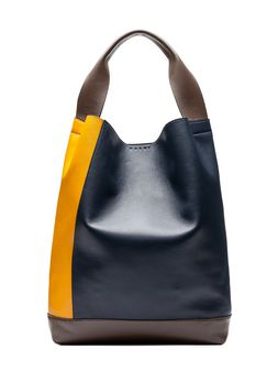 Marni POD bag in tri-colored lambskin Woman