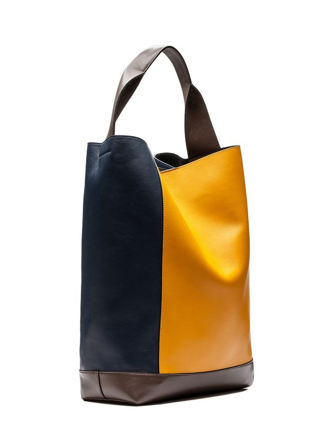 Marni POD bag in tri-colored lambskin Woman - 2
