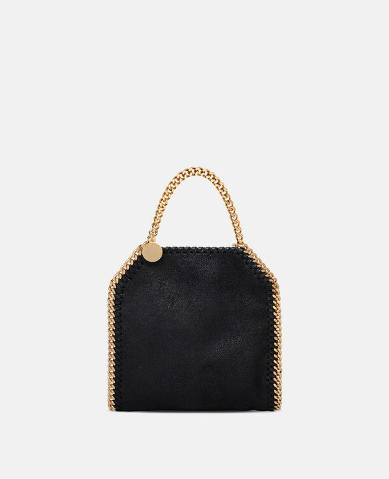 Black Falabella Shaggy Deer Tiny Tote