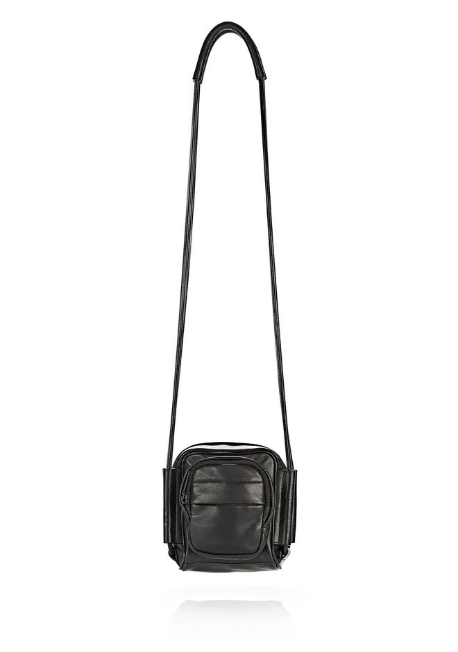 ALEXANDER WANG sale-w-handbags BRENDA CAMERA IN BLACK WITH MATTE BLACK