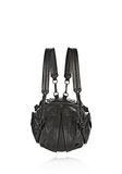 ALEXANDER WANG MINI MARTI IN BLACK WITH MATTE BLACK BACKPACK Adult 8_n_e