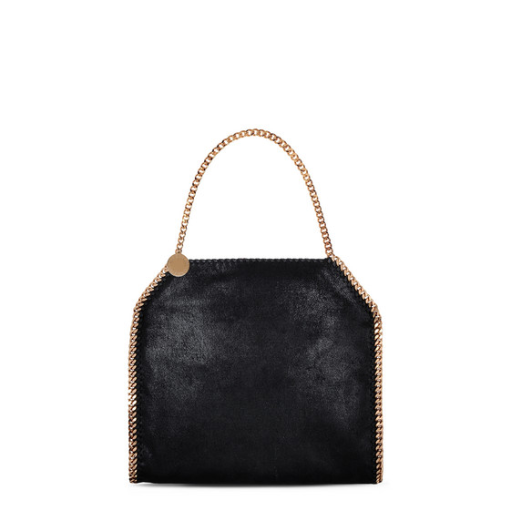 Black Falabella Shaggy Deer Small Tote