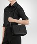BOTTEGA VENETA SHOULDER BAG IN NERO INTRECCIATO NAPPA  Shoulder or hobo bag D ap