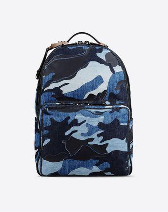 VALENTINO Mochila Denim Camouflage 45275301MK