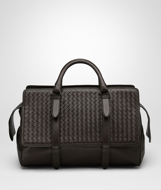BOTTEGA VENETA MONACO BAG IN ESPRESSO INTRECCIATO NAPPA Tote Bag Man fp
