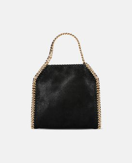 Black Falabella Shaggy Deer Mini Tote