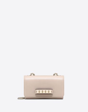 VALENTINO GARAVANI Shoulder bag D Free Rockstud Spike Small Chain Bag f