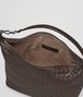 BOTTEGA VENETA SMALL SHOULDER BAG IN ESPRESSO INTRECCIATO NAPPA Shoulder or hobo bag D dp