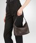 BOTTEGA VENETA SMALL SHOULDER BAG IN ESPRESSO INTRECCIATO NAPPA Shoulder or hobo bag D lp
