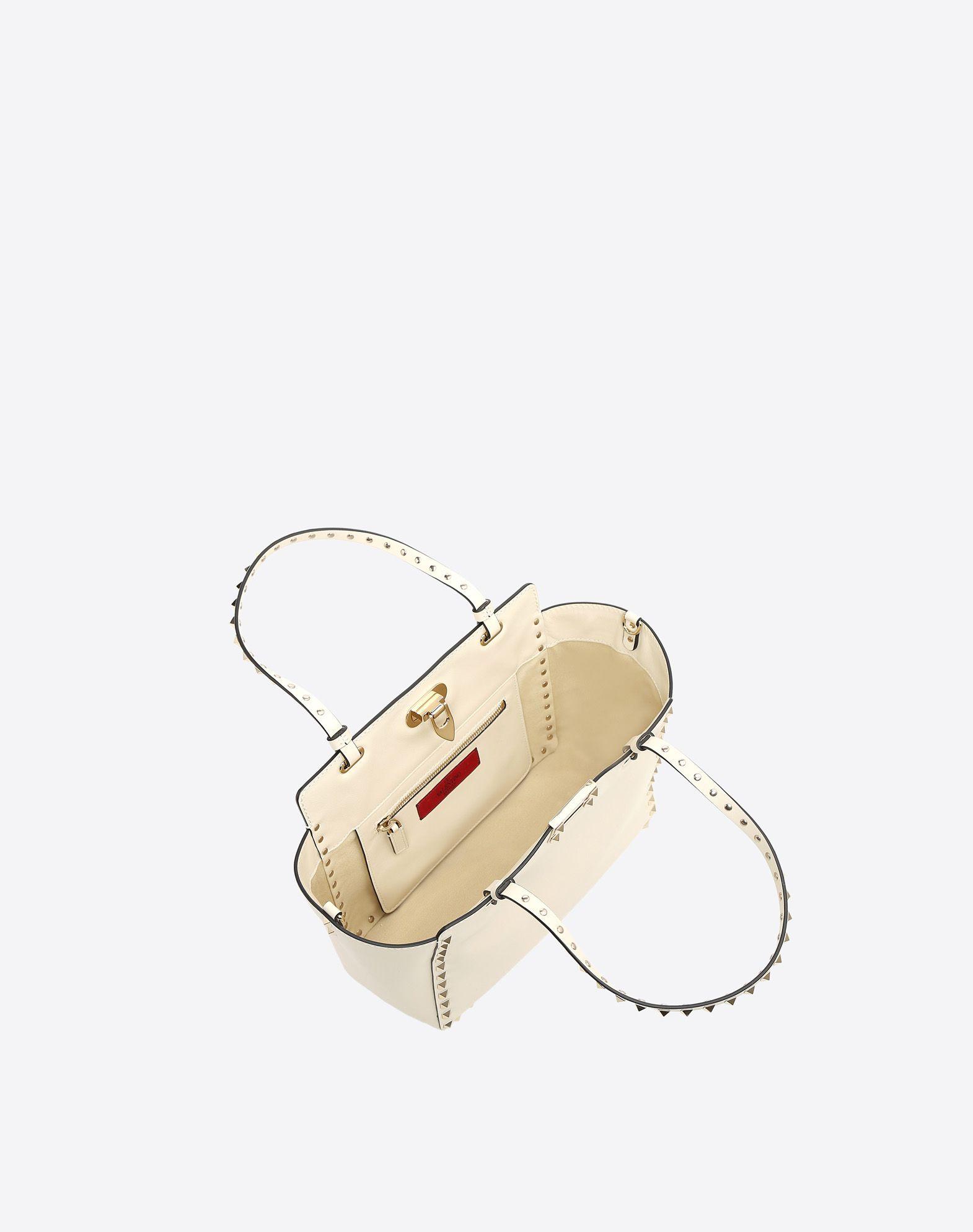 VALENTINO Contrasting applications Framed closure Removable shoulder strap  45277354dp