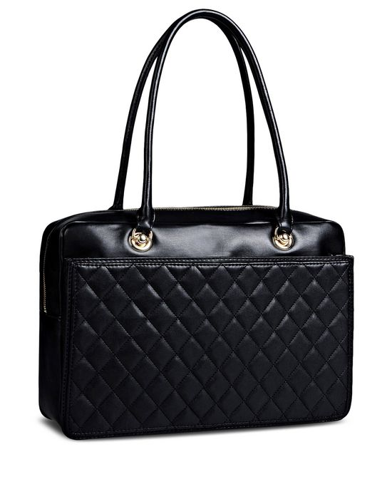 Large leather bag Woman LOVE MOSCHINO