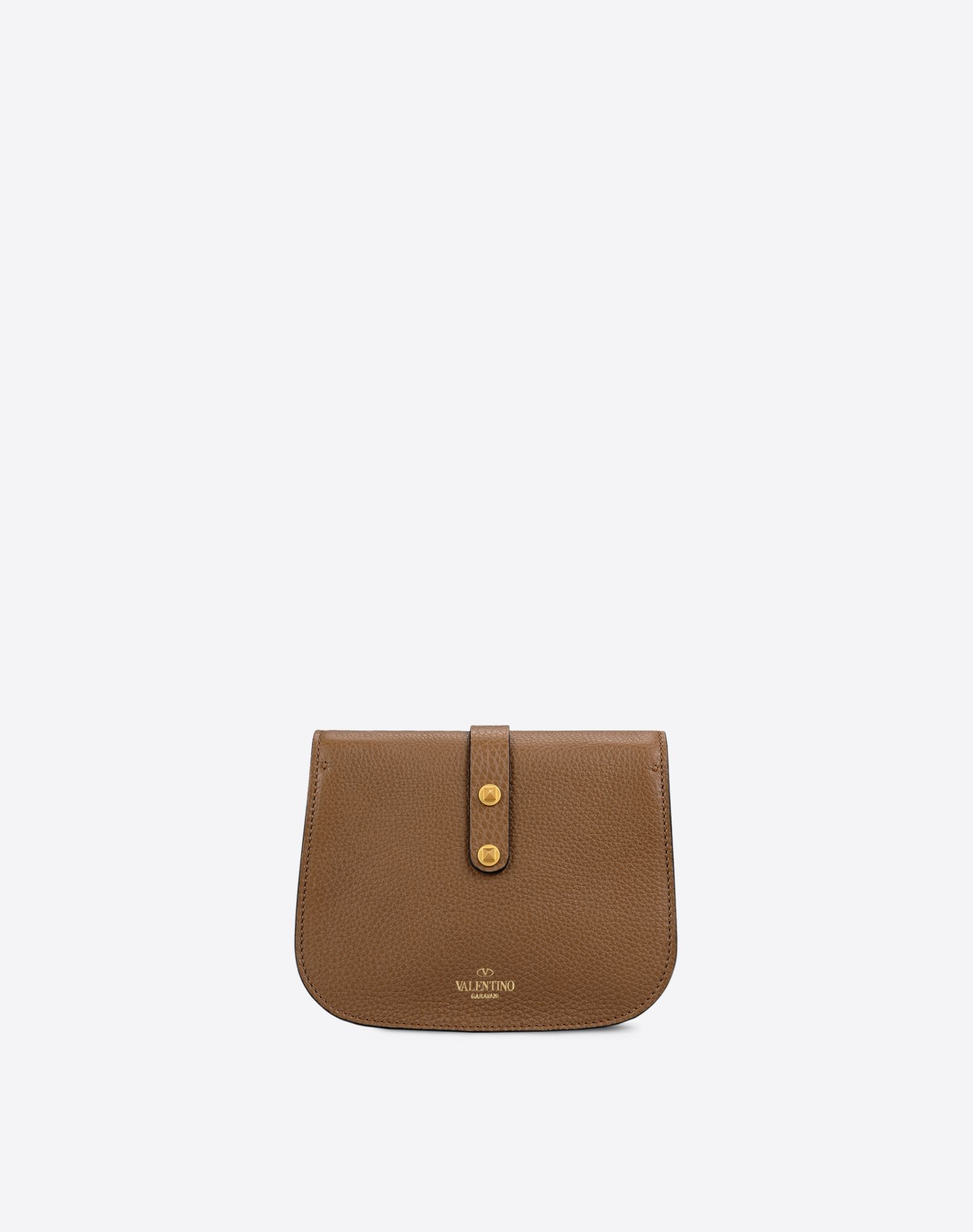 VALENTINO Bag handle Logo detail Solid color Magnetic closure Leather lining  45279721pt