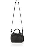 ALEXANDER WANG MINI ROCKIE IN PEBBLED BLACK WITH RHODIUM   Schultertasche Adult 8_n_d