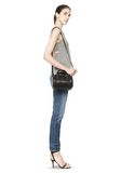 ALEXANDER WANG MINI ROCKIE IN PEBBLED BLACK WITH RHODIUM   Schultertasche Adult 8_n_r