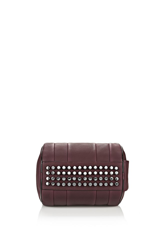 ALEXANDER WANG ROCKIE IN MATTE OXBLOOD WITH RHODIUM  Shoulder bag Adult 12_n_a