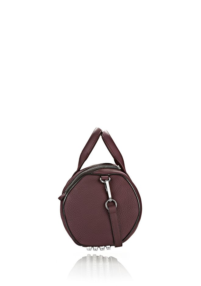 ALEXANDER WANG ROCKIE IN MATTE OXBLOOD WITH RHODIUM  Shoulder bag Adult 12_n_d