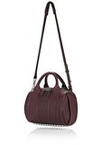 ALEXANDER WANG ROCKIE IN MATTE OXBLOOD WITH RHODIUM  Shoulder bag Adult 8_n_e