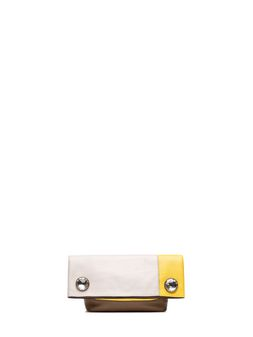 Marni POD clutch in nappa crystal cabochons Woman