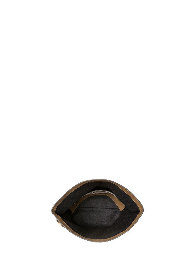 Marni POD clutch in nappa crystal cabochons Woman - 4