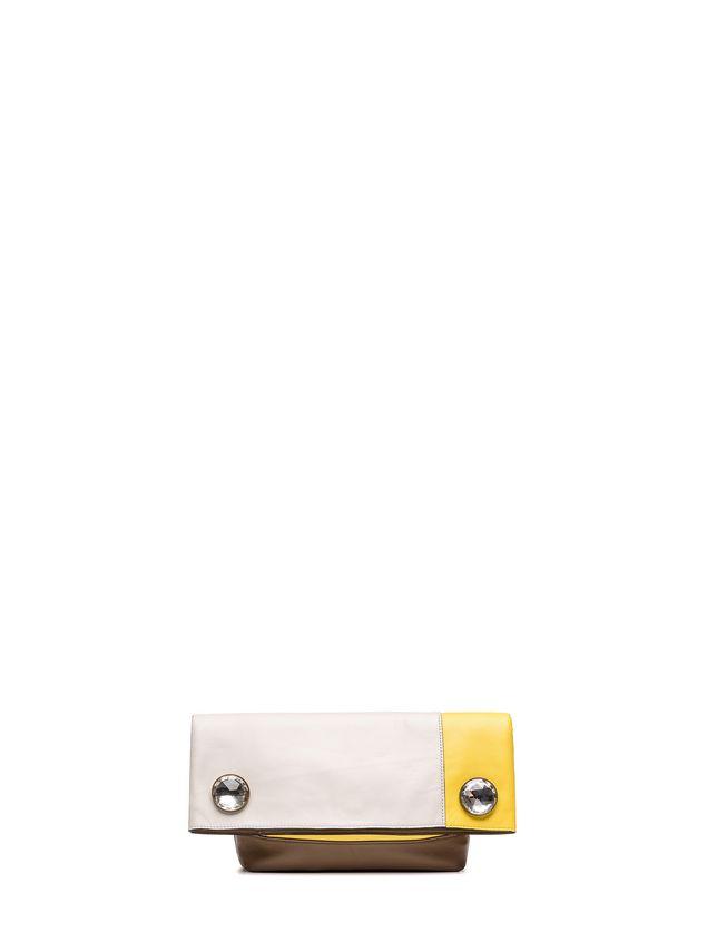 Marni POD clutch in nappa crystal cabochons Woman - 1