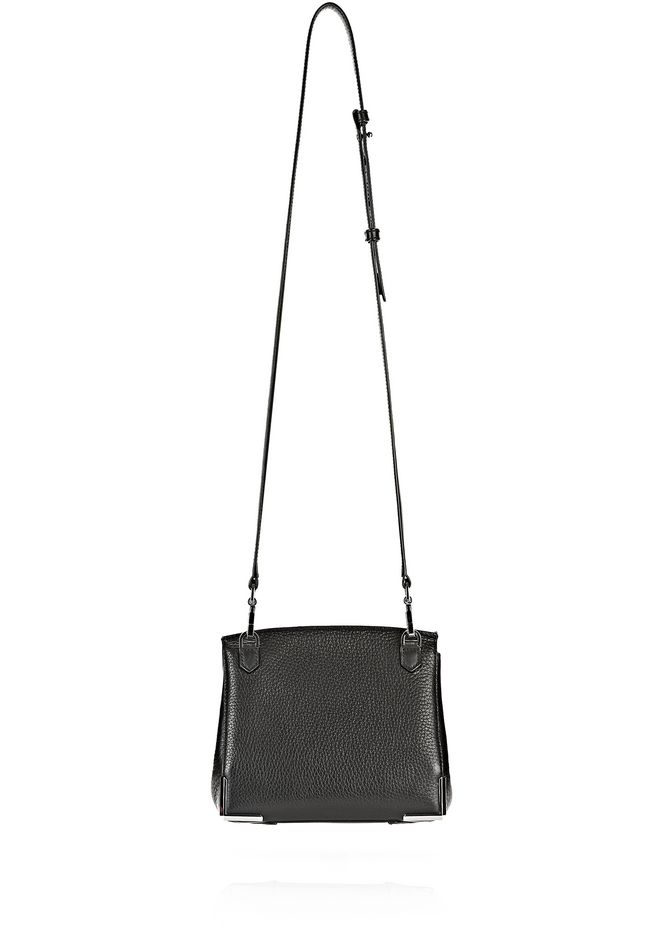 ALEXANDER WANG MARION IN PEBBLED BLACK WITH RHODIUM Shoulder bag Adult 12_n_d