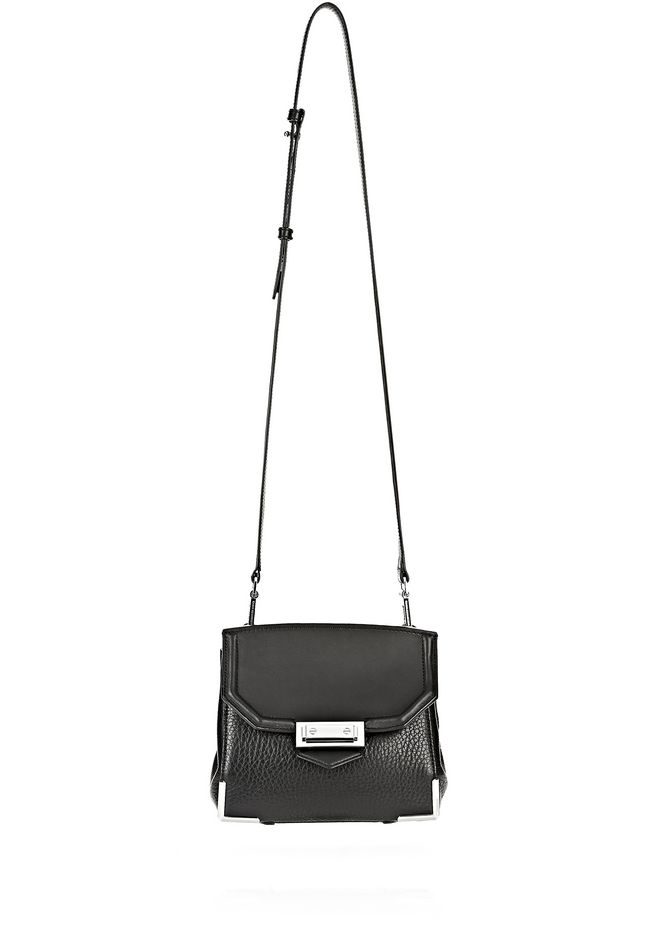 ALEXANDER WANG MARION IN PEBBLED BLACK WITH RHODIUM Shoulder bag Adult 12_n_e
