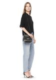 ALEXANDER WANG MARION IN PEBBLED BLACK WITH RHODIUM Shoulder bag Adult 8_n_r