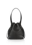 ALEXANDER WANG PRISMA DRAWSTRING HOBO IN BLACK WITH RHODIUM Shoulder bag Adult 8_n_a