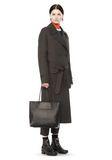 ALEXANDER WANG PRISMA LARGE TOTE IN PEBBLED BLACK WITH RHODIUM Shoulder bag Adult 8_n_r