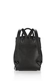 ALEXANDER WANG PRISMA BACKPACK IN PEBBLED BLACK WITH RHODIUM  BACKPACK Adult 8_n_d