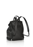 ALEXANDER WANG PRISMA BACKPACK IN PEBBLED BLACK WITH RHODIUM  BACKPACK Adult 8_n_e