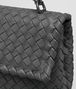 BOTTEGA VENETA LIGHT GRAY INTRECCIATO NAPPA BABY OLIMPIA BAG Shoulder or hobo bag D ep