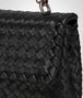 BOTTEGA VENETA BABY OLIMPIA BAG IN NERO INTRECCIATO NAPPA Shoulder or hobo bag D ep