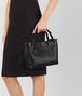 BOTTEGA VENETA NERO INTRECCIATO NAPPA SMALL GARDA BAG Shoulder or hobo bag D ap