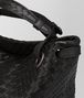 BOTTEGA VENETA NERO INTRECCIATO NAPPA SMALL GARDA BAG Shoulder or hobo bag D ep