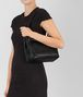 BOTTEGA VENETA NERO INTRECCIATO NAPPA SMALL GARDA BAG Shoulder or hobo bag D lp