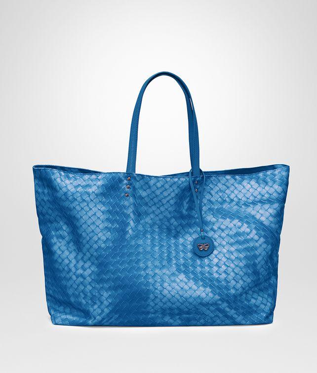 de228f0f30 BOTTEGA VENETA LARGE TOTE BAG IN BLUETTE INTRECCIOLUSION Top Handle Bag       pickupInStoreShipping info