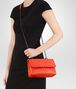 BOTTEGA VENETA BABY OLIMPIA BAG IN VESUVIO INTRECCIATO NAPPA Shoulder or hobo bag Woman ap