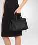 BOTTEGA VENETA MEDIUM TOP HANDLE BAG IN NERO INTRECCIATO NAPPA Top Handle Bag D ap