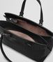 BOTTEGA VENETA MEDIUM TOP HANDLE BAG IN NERO INTRECCIATO NAPPA Top Handle Bag Woman dp